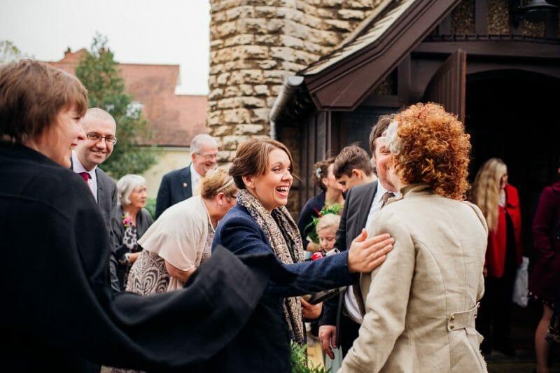 Chicheley Hall overgrown library wedding-14