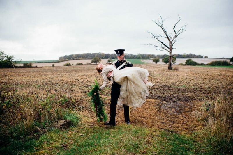Chicheley Hall overgrown library wedding-21