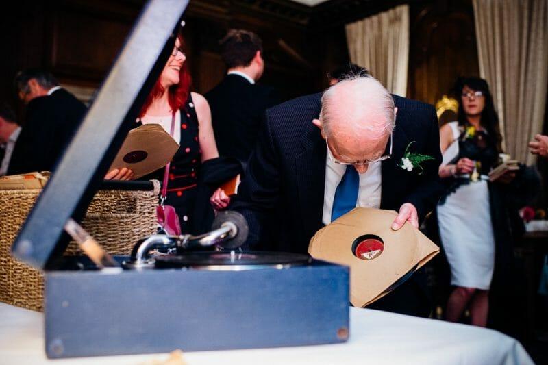 Chicheley Hall overgrown library wedding-40