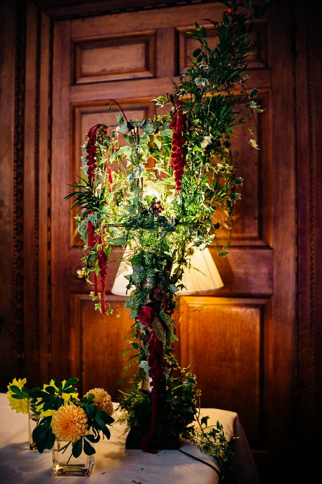 Chicheley Hall overgrown library wedding-43
