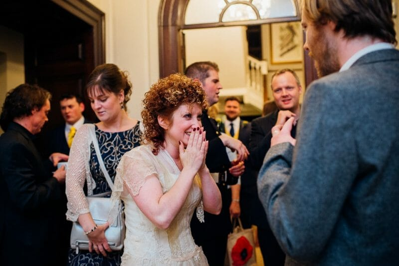 Chicheley Hall overgrown library wedding-46