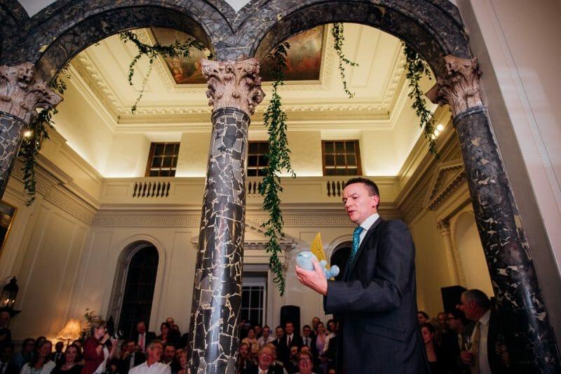 Chicheley Hall overgrown library wedding-53