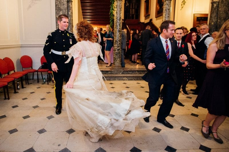 Chicheley Hall overgrown library wedding-61