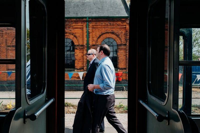 tipi train wedding east anglian museum-10