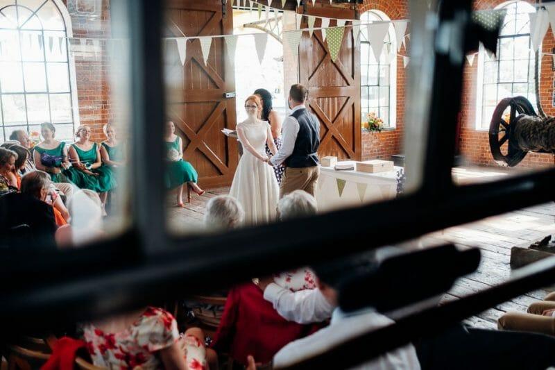 tipi train wedding east anglian museum-15