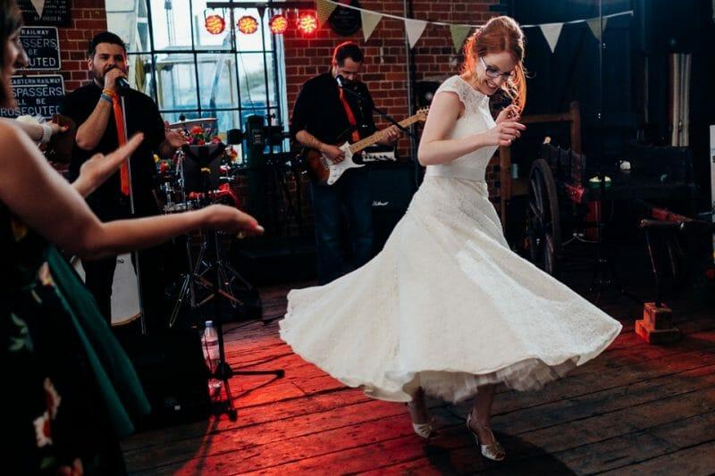 tipi train wedding east anglian museum-50
