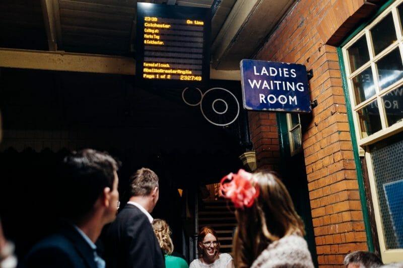 tipi train wedding east anglian museum-73