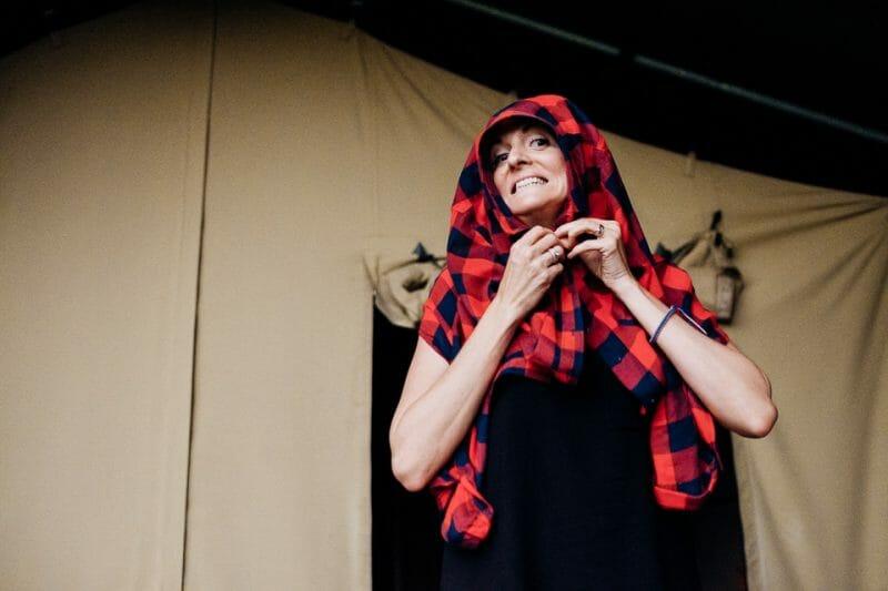 camp katur woodland lesbian wedding-9