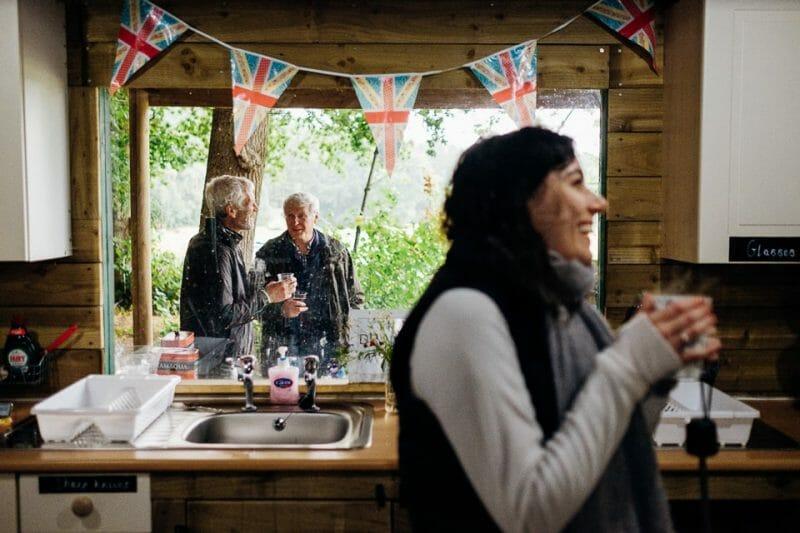 camp katur woodland lesbian wedding-14