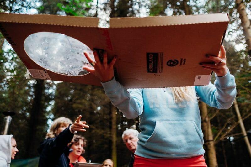 camp katur woodland lesbian wedding-18
