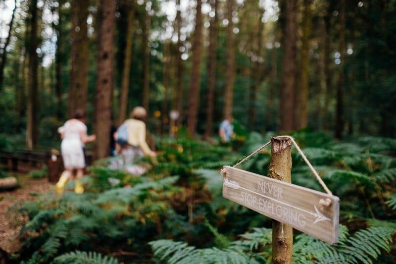 camp katur woodland lesbian wedding-36