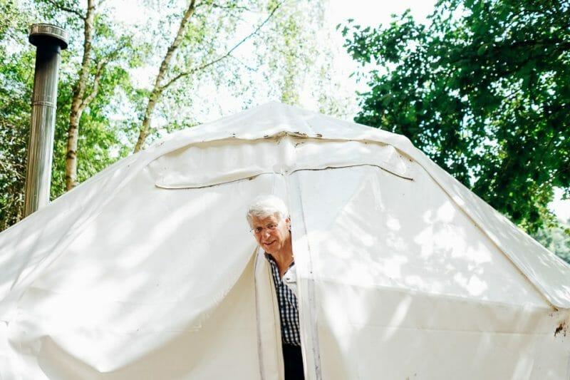 camp katur woodland lesbian wedding-41