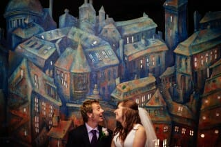 Alternative fun wedding photography brighton