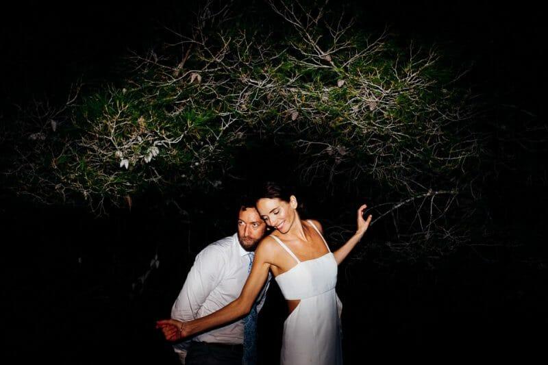 fun vice wedding photo