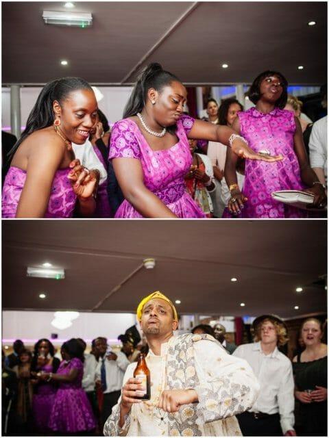 funny bridesmaids dancing