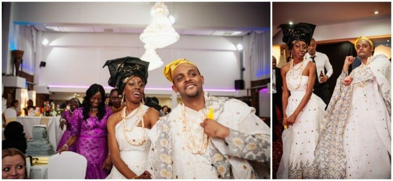 nigerian wedding entrance