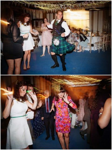 wedding guests dancing alternative