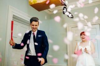 wedding piñata