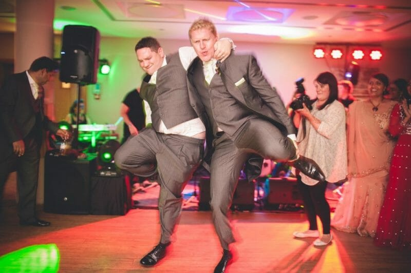 London Alternative Candid Relaxed Fun Alternative Documentary Wedding Photography dancing guests relaxed informal