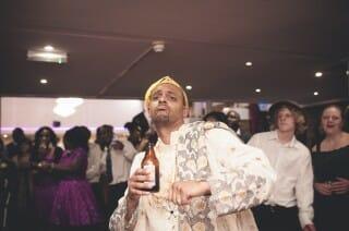 Nigerian Groom Dancing London Wedding Photography