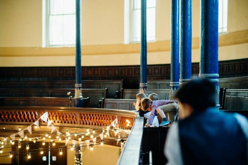 round chapel wedding-34